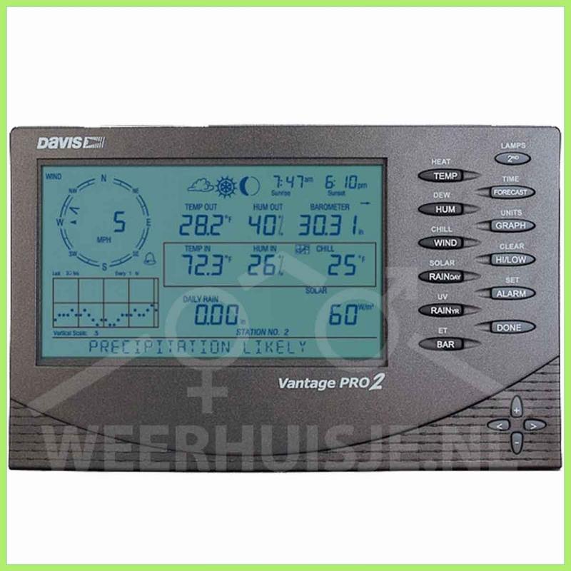 Davis 6312C | VP option | Vantage Pro2 console - bekabeld