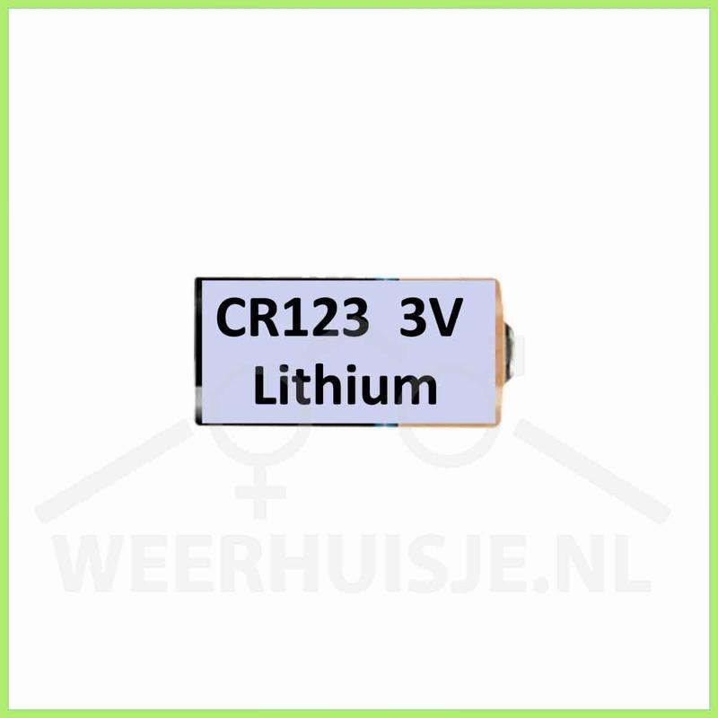 Duracell ultra 3V Lithium CR123A batterij