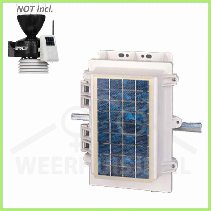 Davis 7707    VP option   Solar power kit bekabeld systeem