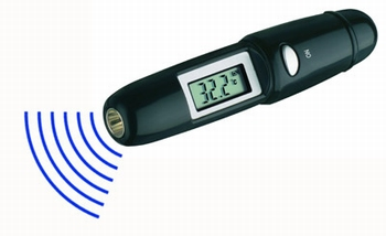 TFA 31.1117 Easyflash infrarood thermometer