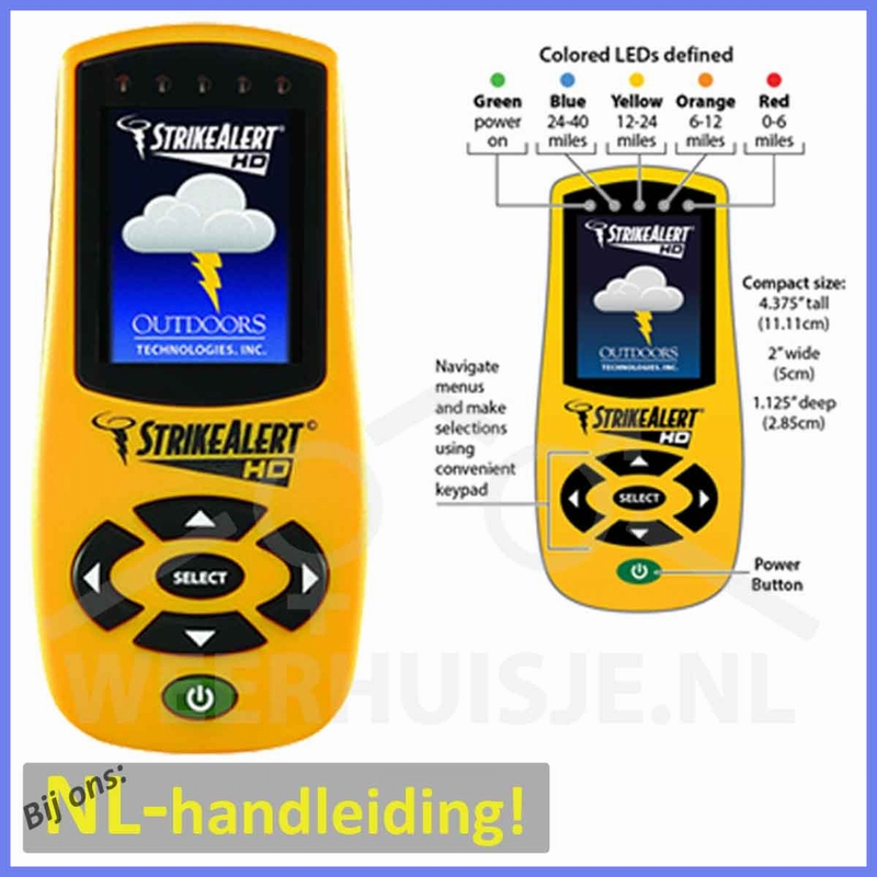 SA-LD3000 Strike Alert HD bliksemdetector