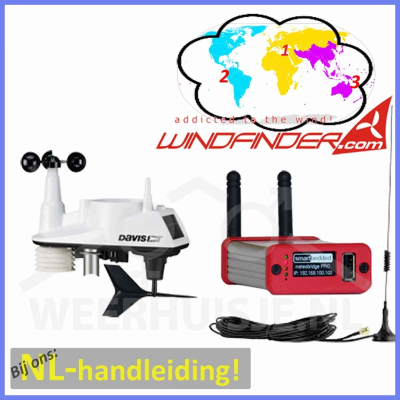 Windfinder weather station  <b>(€ 545,- ex VAT)</b>