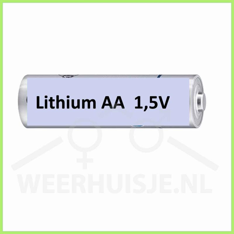 Set 4xAA lithium batterijen