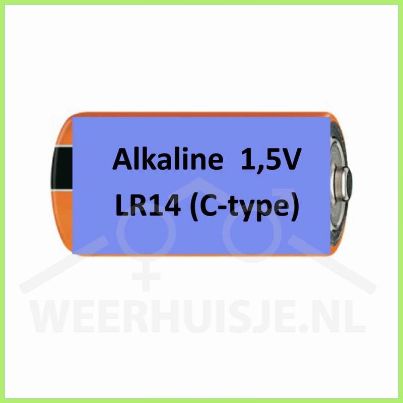 Duracell procell 1,5V alkaline LR14 (C-type) batterij