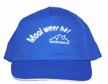 """Weerhuisje.nl """"Mooi weer hè"""" Pet"""