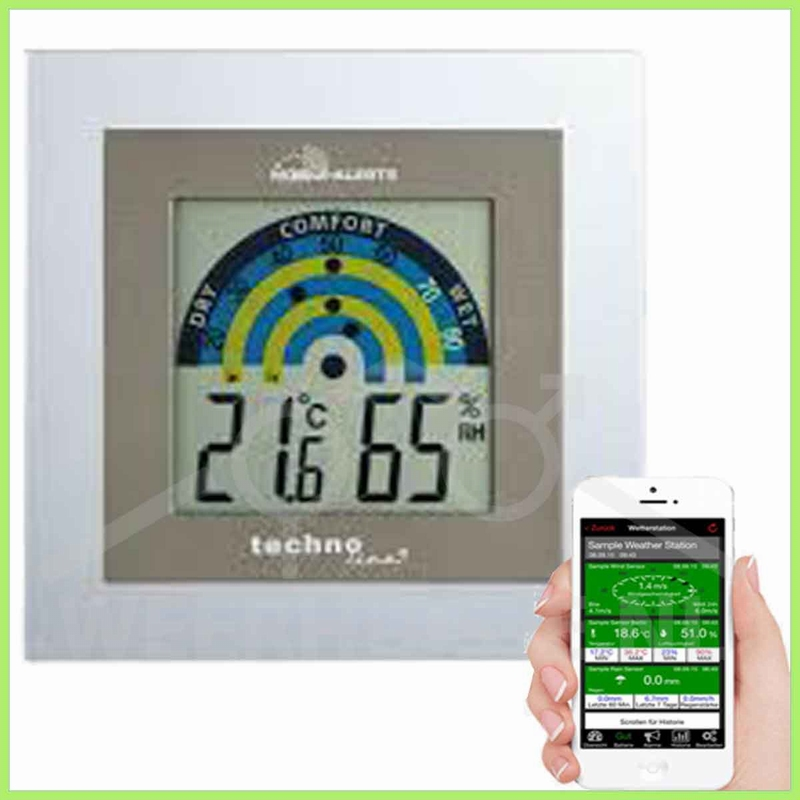 MA10230 Mobile Alerts Klimastation binnen, met display
