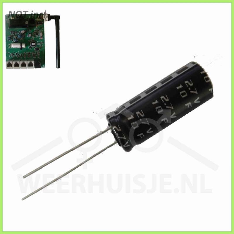 Supercap voor Davis VP2 transmitter boards