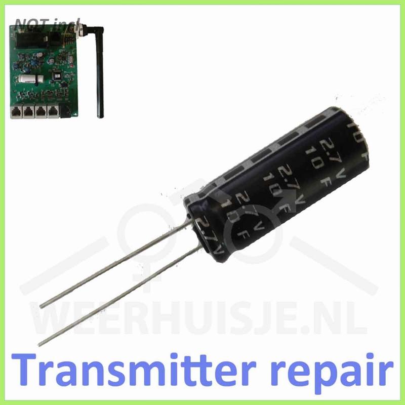 Supercap reparatie Davis transmitter boards