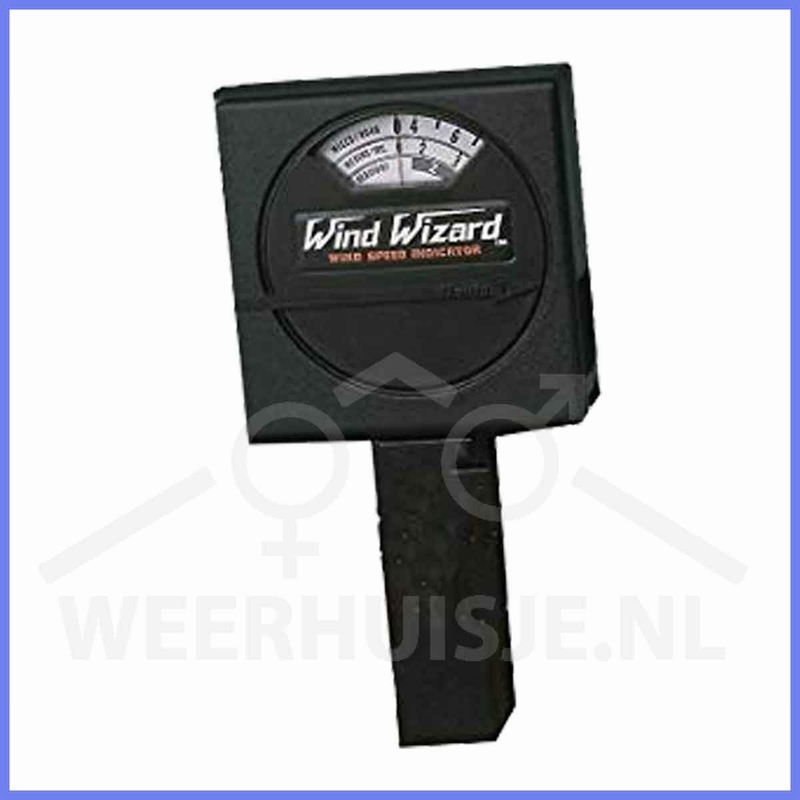 NIEUW - Davis 281 Windwizard windmeter