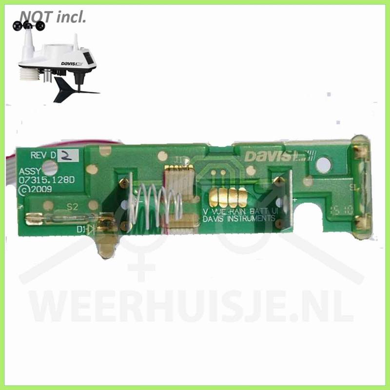 Davis 7345.293  | Vue part | Battery PCB Vantage Vue