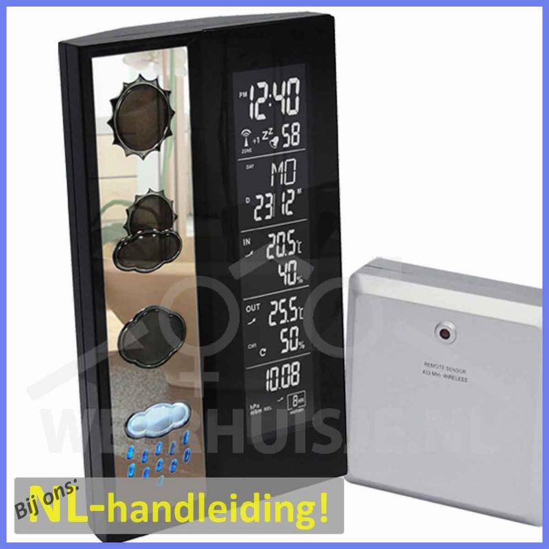 Technoline WS6650 premium weerstation met 3D weersymbolen