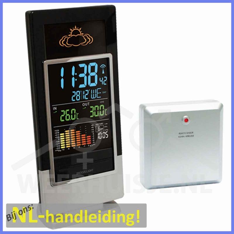 Technoline WS6502 Led display weerstation
