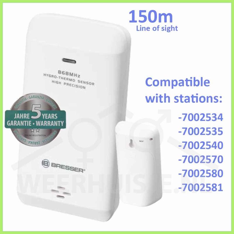 BR-7009999 - Temp/luchtvochtigheidssensor draadloos
