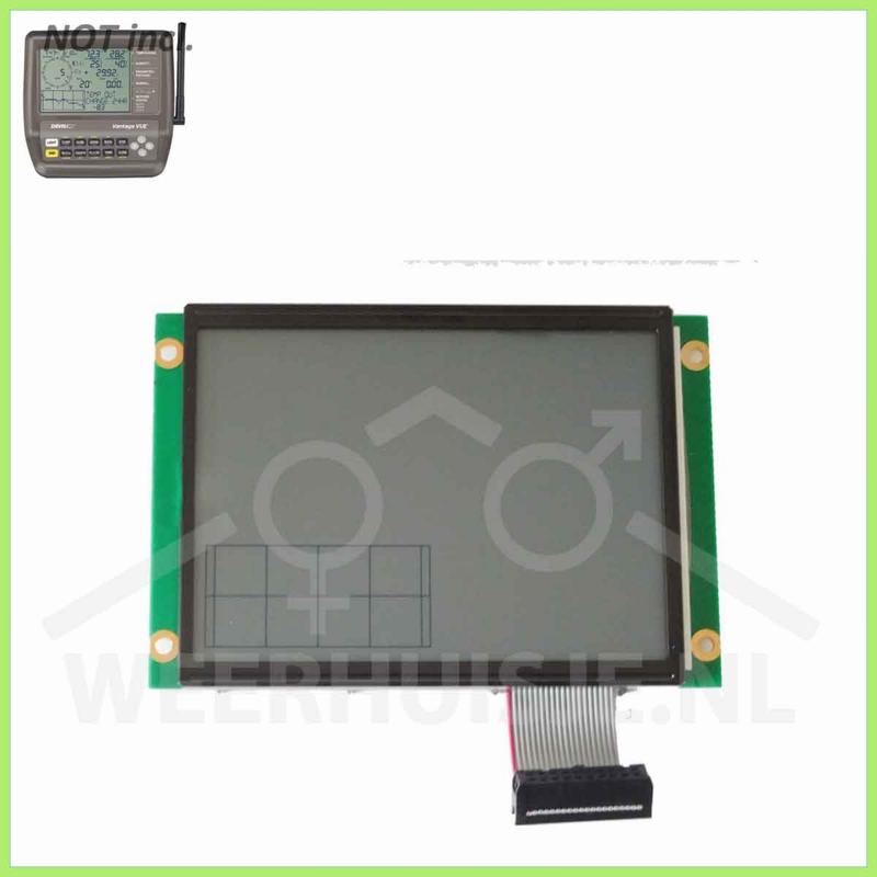 GEBRUIKT - Davis 7365.009 Vantage Vue Replacement LCD Screen
