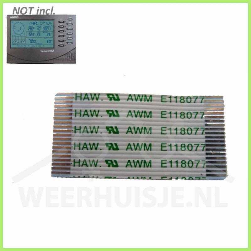 Davis 7346.047-cbl | VP part | Vantage Pro2 flat cable
