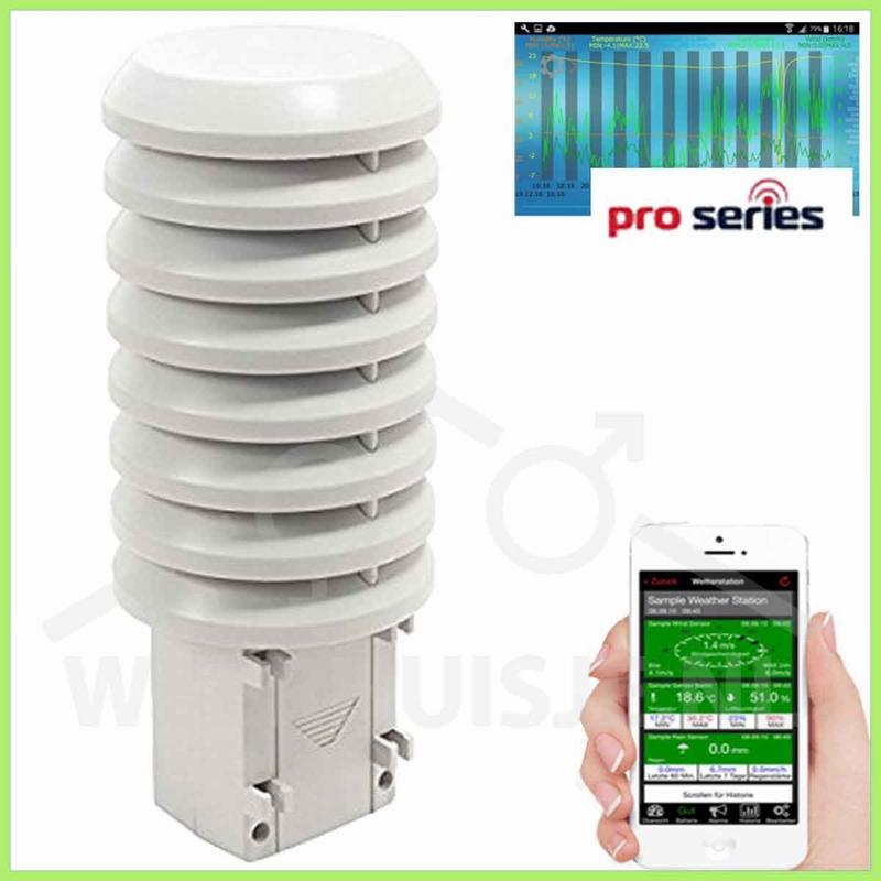MA10250 Mobile Alerts PRO T/H sensor / repeater windmeter