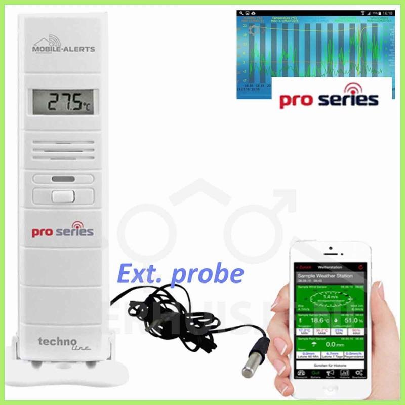 MA10320 Mobile Alerts PRO temp/hygro met sonde