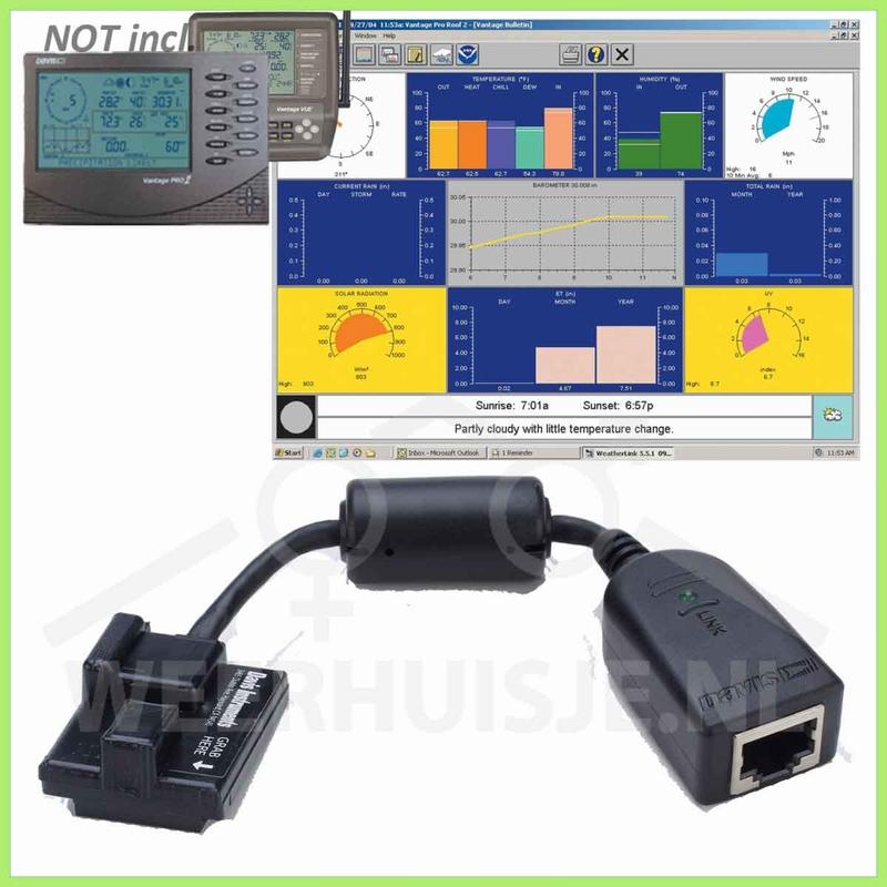 Davis 6555  | VP&Vue option | Weatherlink IP