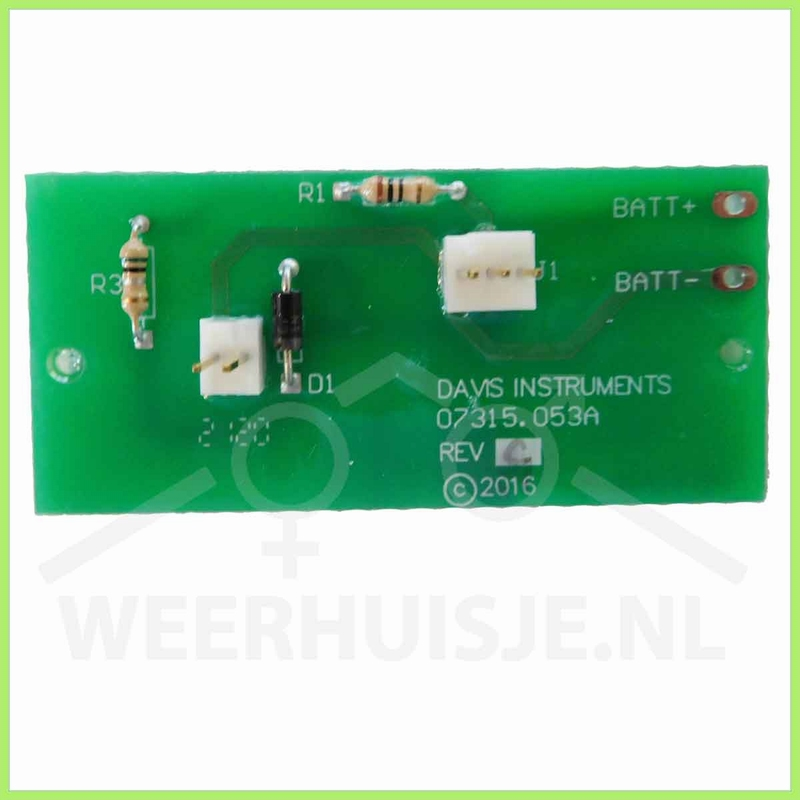 Davis 7315.035A | VP part | SPARS controlboard