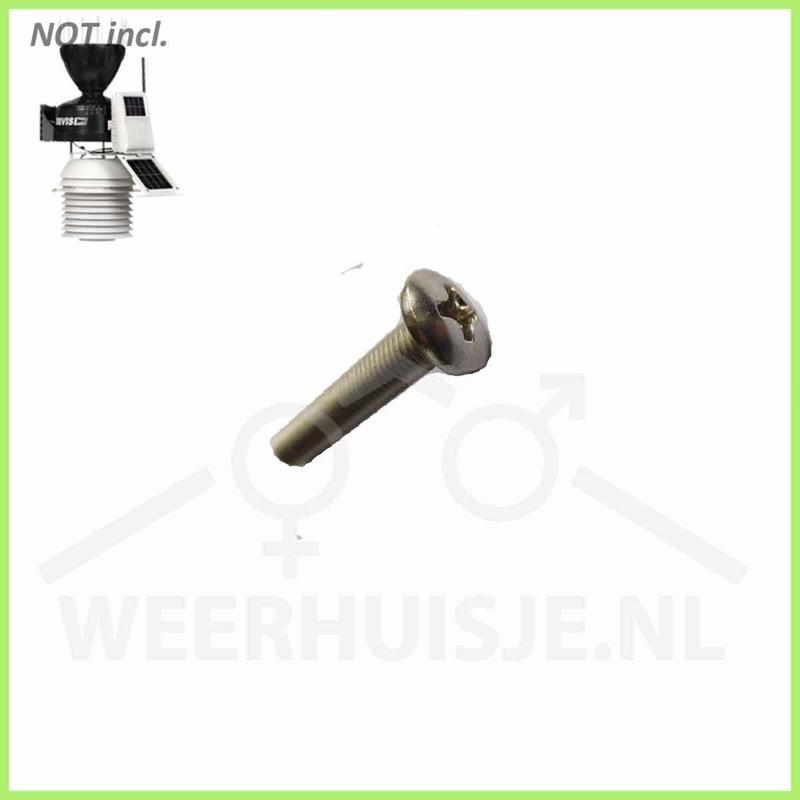 Davis 7350.017 | VP part | Pro 2 Stainless steel screw