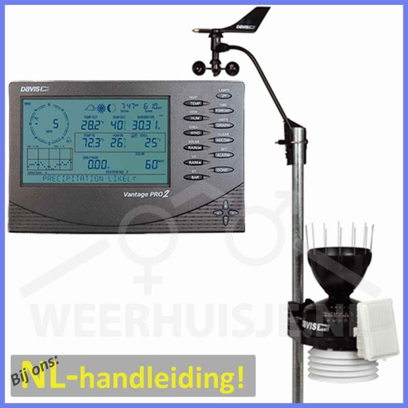 Davis 6152C VP2 Vantage Pro2 cabled weather station