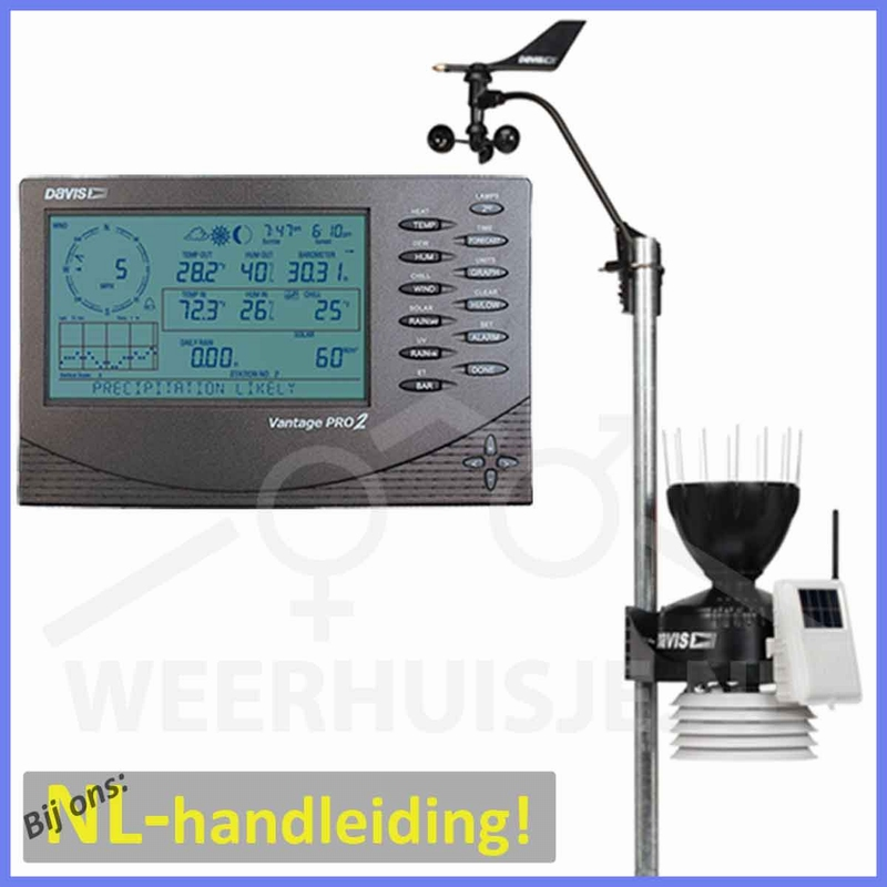 Davis 6152 VP2 Vantage Pro 2 professional weather station