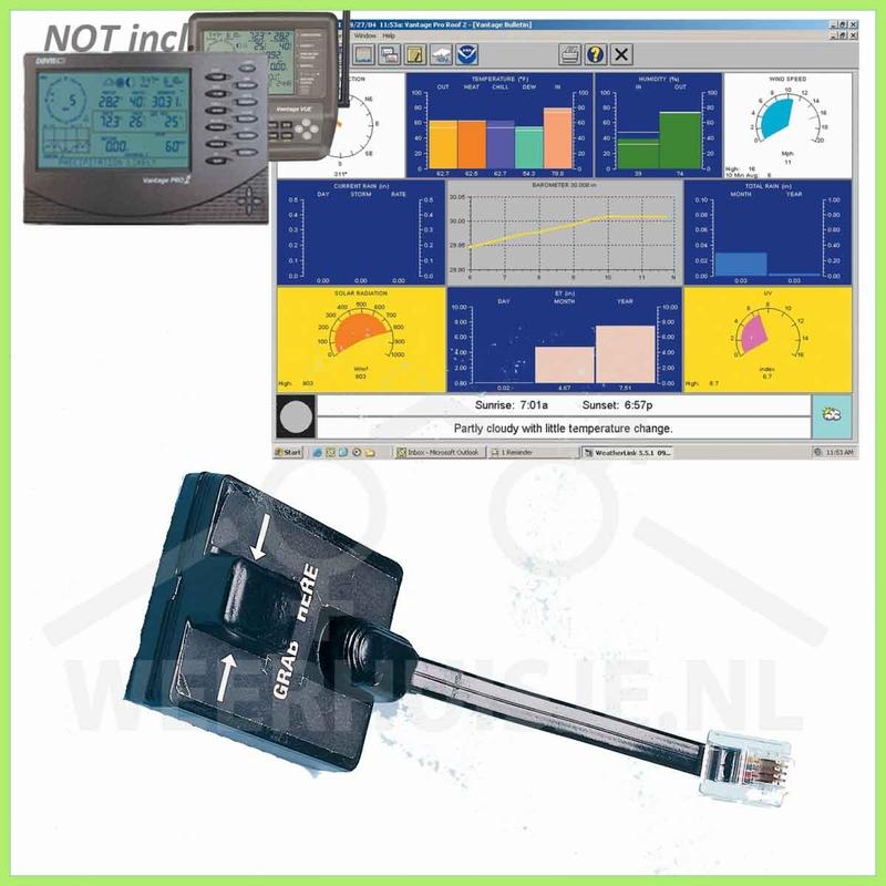 Davis 6510SER  | VP&Vue option | Weatherlink VP2 Serieel