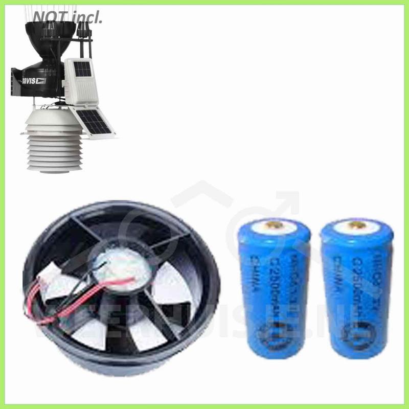 Davis 7758B Motor kit met batterij backup