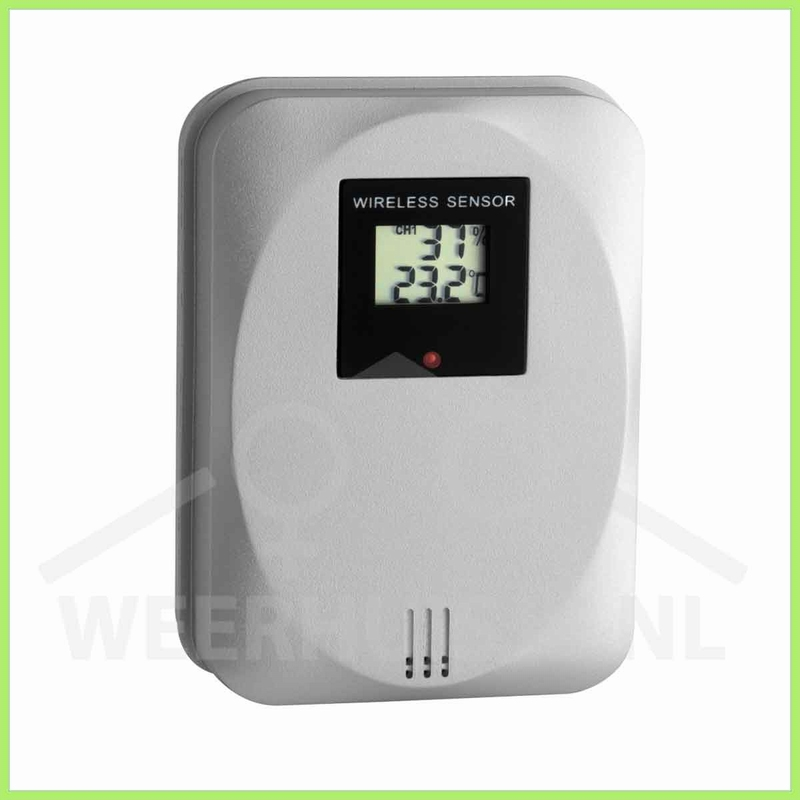 TFA 30.3169 Temp/luchtvochtigheidssensor draadloos, display