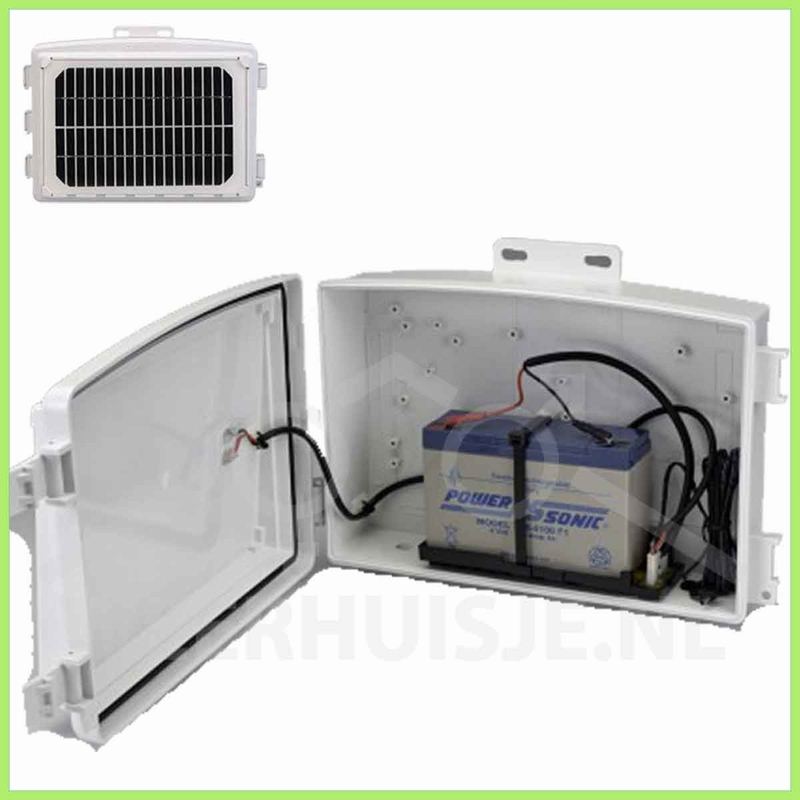 Davis 6612 | VP option | Heavy duty Solar power kit draadl