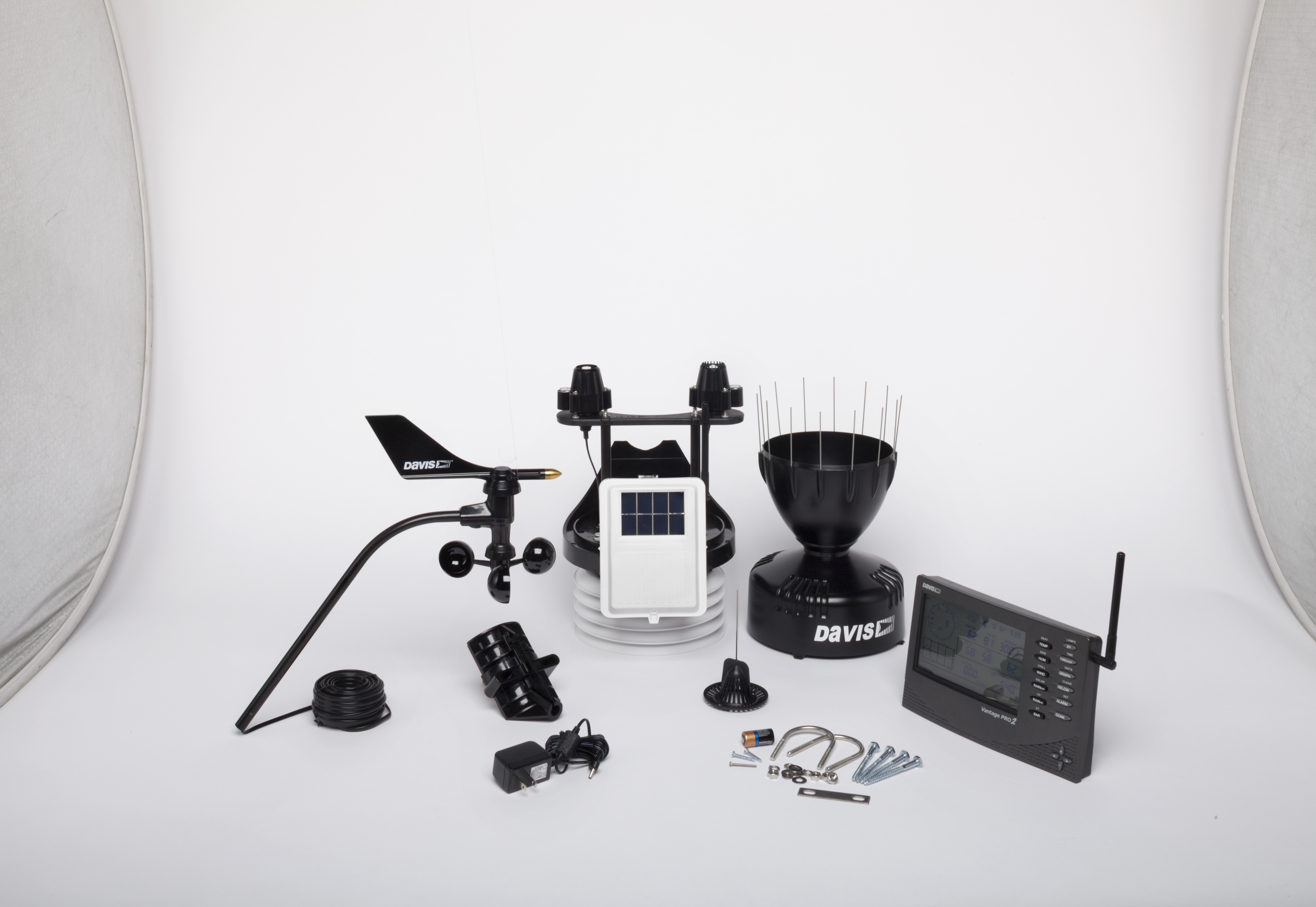 Davis 6162 Vantage Pro 2 Plus professional weather station
