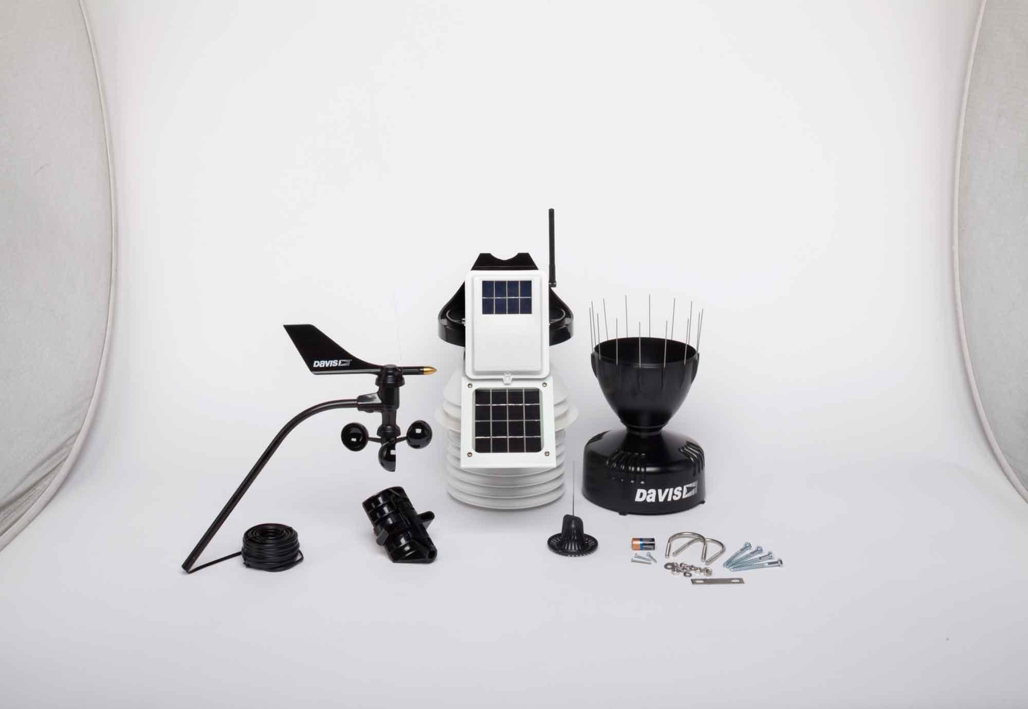 Davis 6323 VP2 met 24hr fan sensor set draadloos