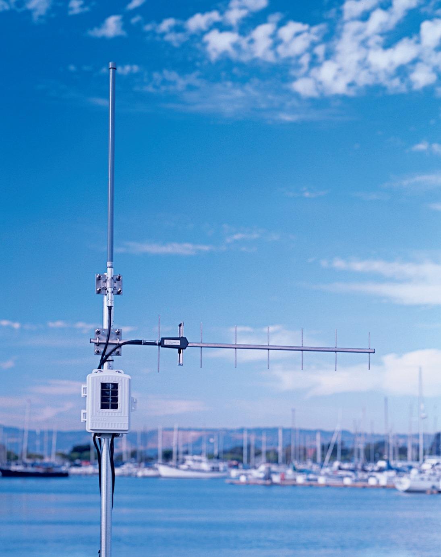 Davis 7654  | VP option | Long range repeater met zonnecel