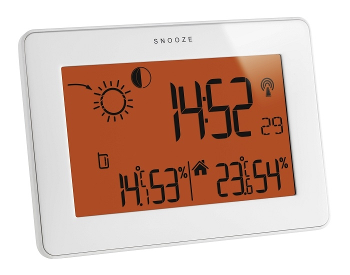 TF 35.1128.02 Slim touch weerstation.