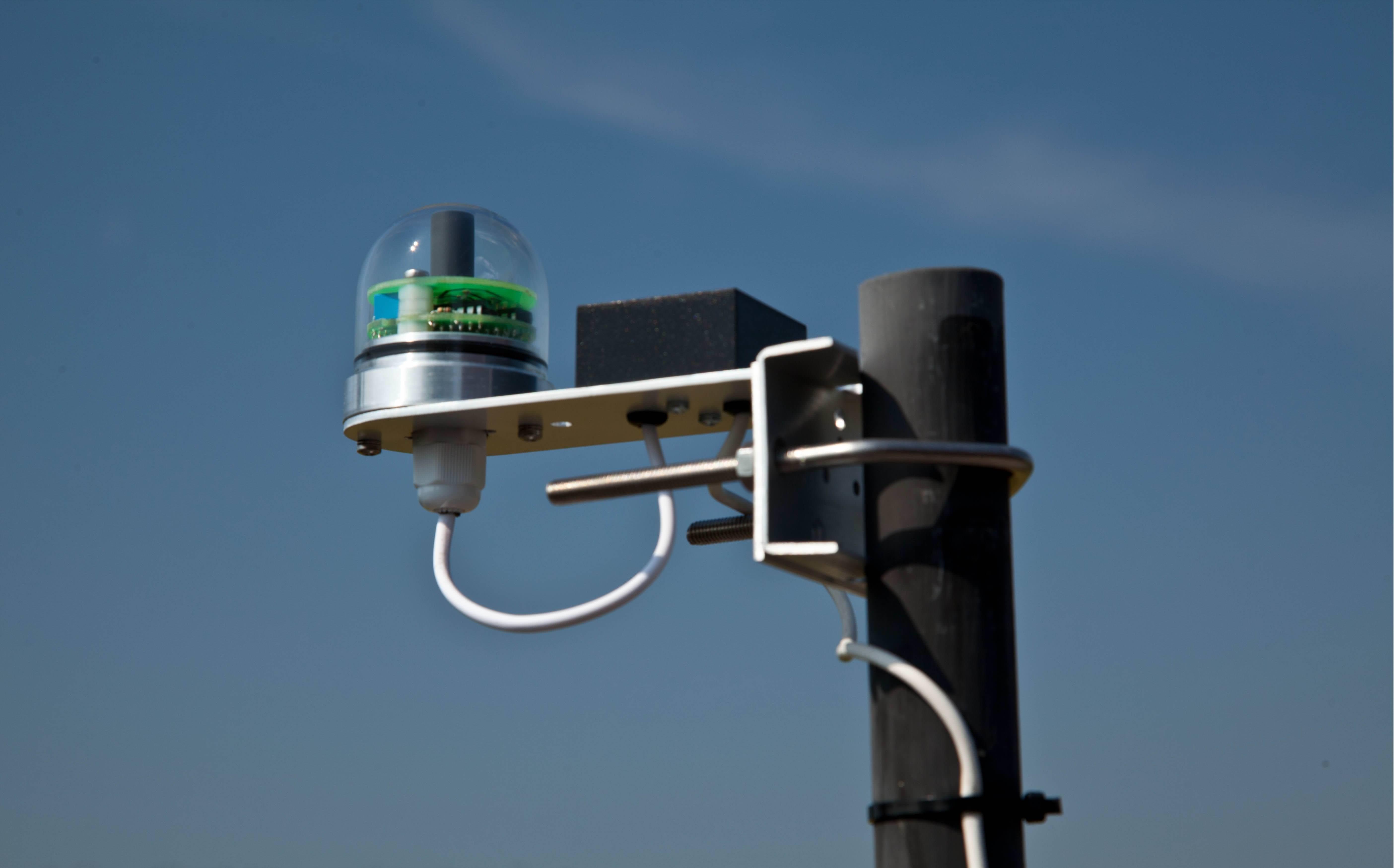 Verbeterde sun sensor