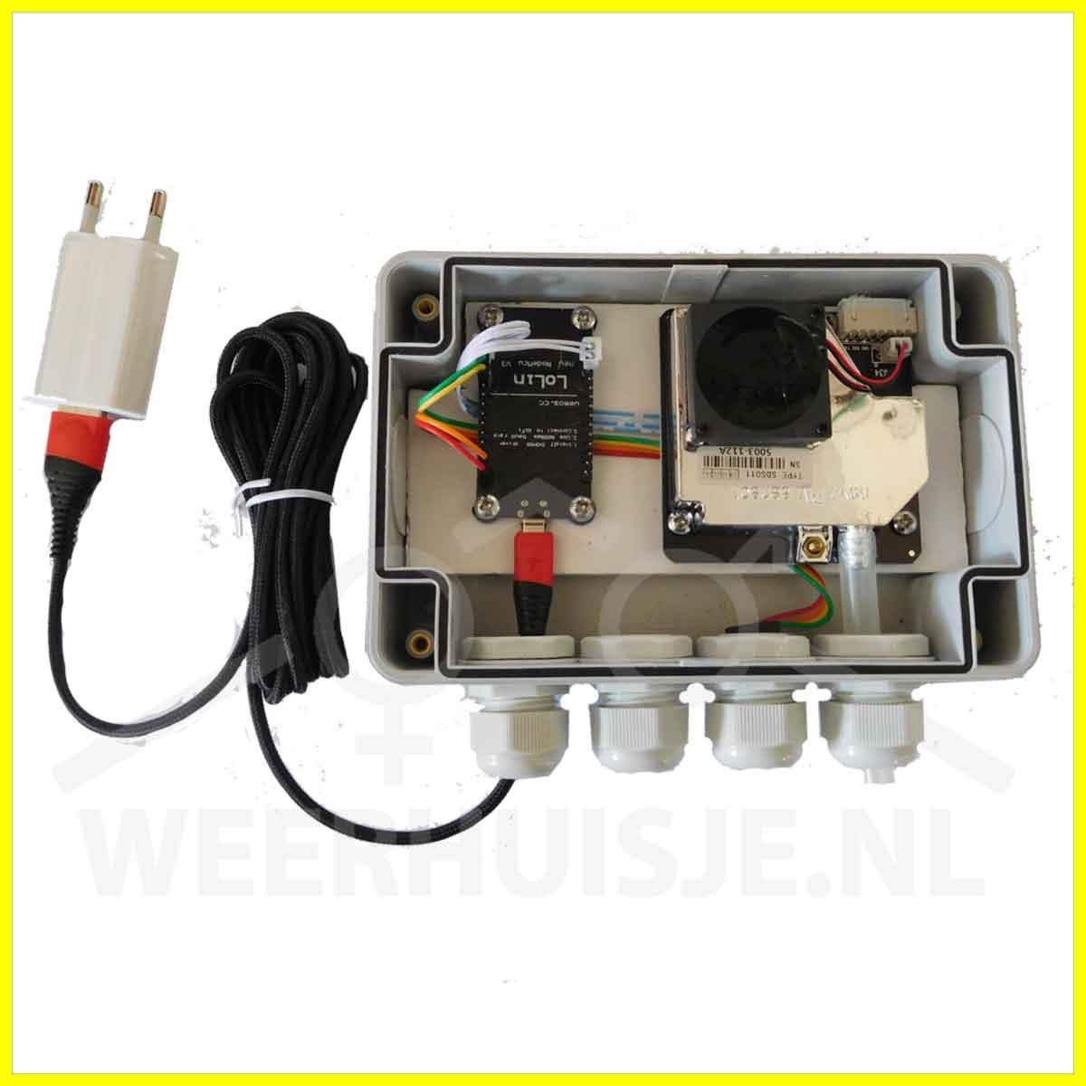 WH FS-01-Box Fijnstof meetstation luchtkwaliteit Type Box