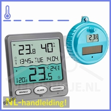 Venice zwembad thermometer met display