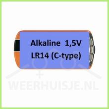 Duracell industrial 1,5V alkaline LR14 (C-type) batterij