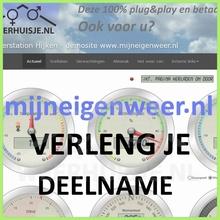 WH-WebPack+1   1 jaar verlenging deelname weerwebsite