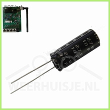Supercap voor Davis VP2 transmitter boards
