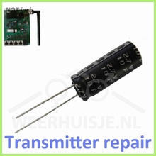 Supercap reparatie Davis transmitter boards