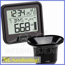 REGEN - TFA 47.3005 Drop draadloze regenmeter