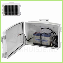 Davis 6612 Heavy duty Solar power kit voor draadloos systeem