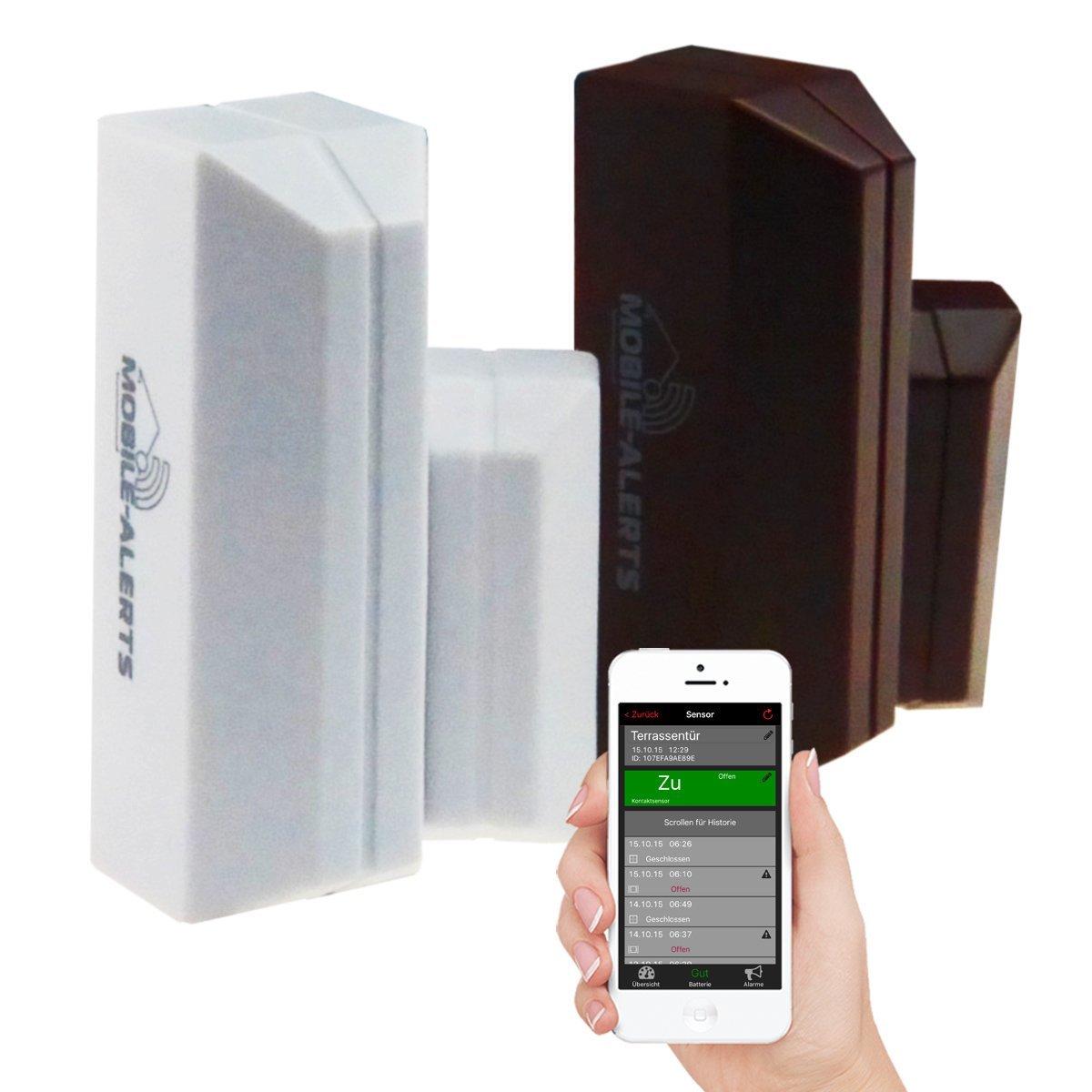 Weerhuisje Mobile alerts MA10800 Weather hub 30.3311.02 deur/venstercontact