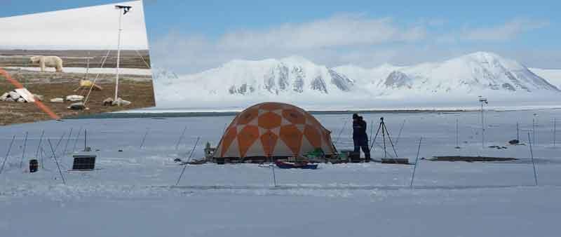 Weerhuisje portfolio Davis weerstation Spitsbergen
