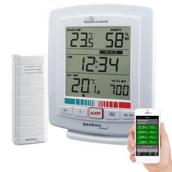 Weerhuisje Mobile alerts WL2000 luchtkwaliteitmonitor