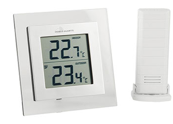 Weerhuisje Mobile alerts MA10450 Weather hub temperatuur