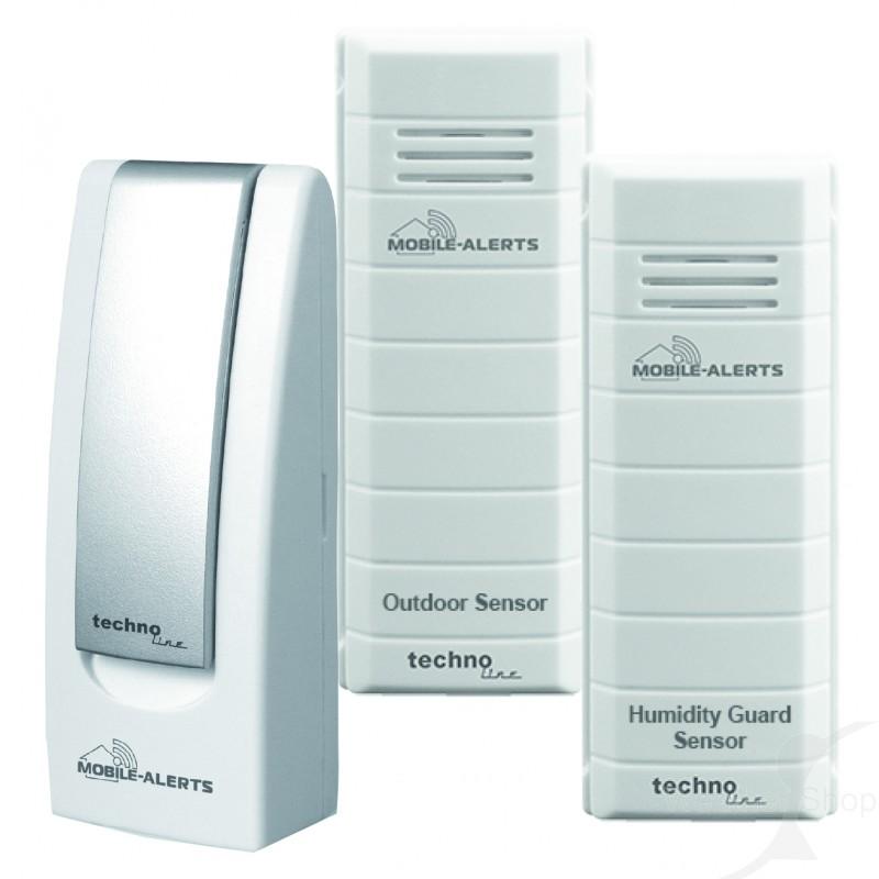 Weerhuisje Mobile alerts MA10012 Weather hub sensoren