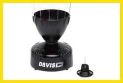 Weerhuisje Davis regenmeter