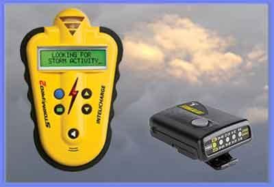 Lightning detectors